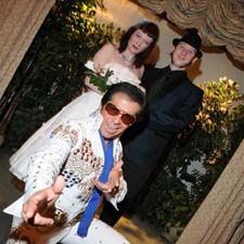 Elvis in Concert Las Vegas wedding package