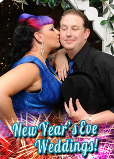 New Year's Eve Indoor or Outdoor Gazebo Wedding Package