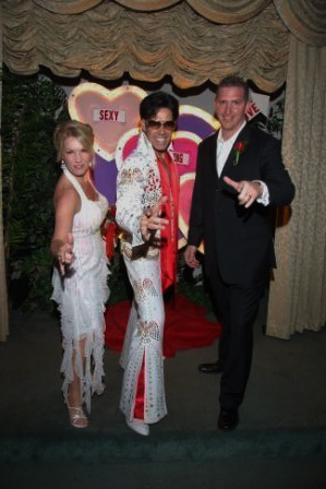 Las Vegas Elvis Themed Wedding Photos