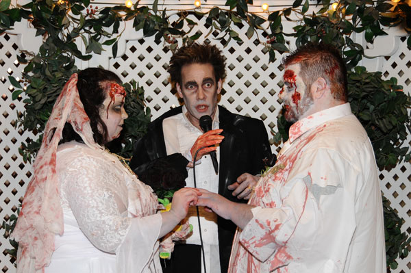 Zombie Wedding Package