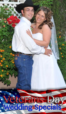 The Stars and Stripes with Elvis Wedding Package