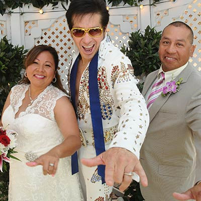 Get Married in The Gazebo By Elvis