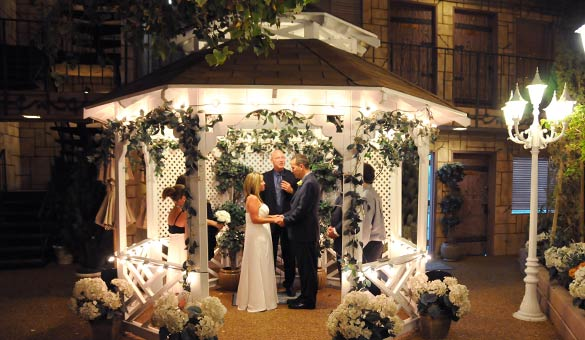Evening Outdoor Gazebo Wedding Package