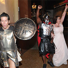 Gladiator Wedding