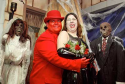 Halloween Wedding Couple