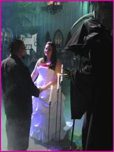 Viva Las Vegas Weddings | Gothic Wedding