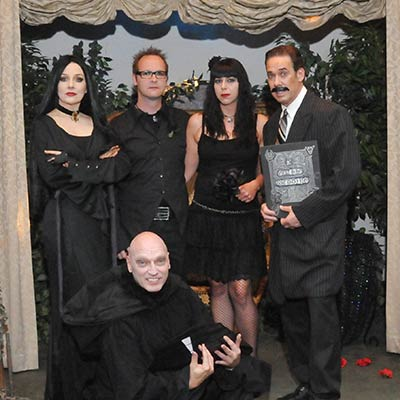 The Addams Family Impersonators