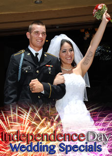 4th of July Freedom Wedding Special