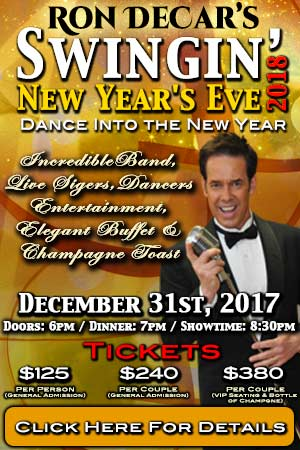 Ron DeCar's Swingin' New Year's Eve.