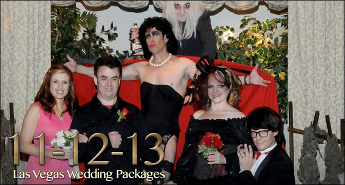 11 12 13 Themed Wedding Package