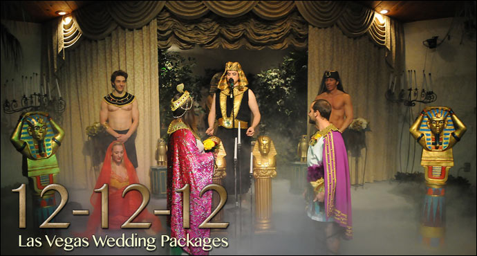12-12-12 Themed Wedding Package