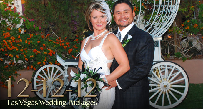 12-12-12 Las Vegas Princess Wedding Packages!