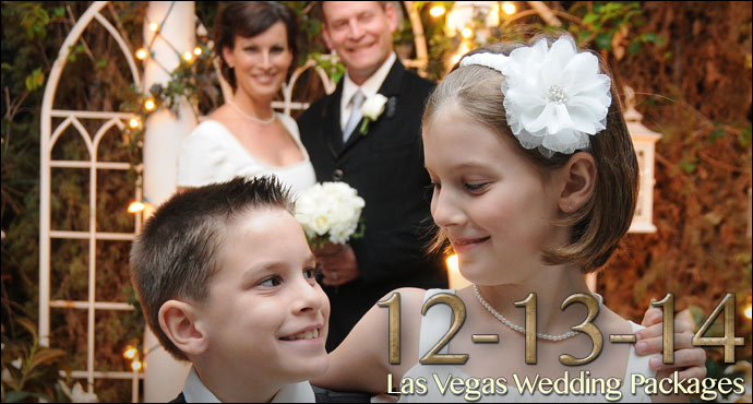 12-13-14 Traditional Las Vegas Wedding Packages!