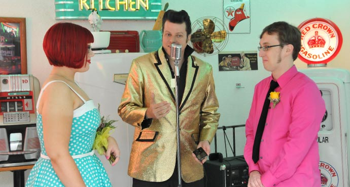 Elvis Weddings Ceremonies for 11-11-11