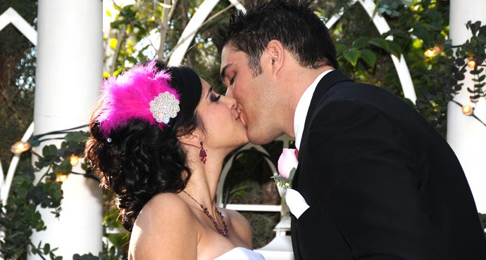 Viva Las Vegas Outdoor Garden Weddings