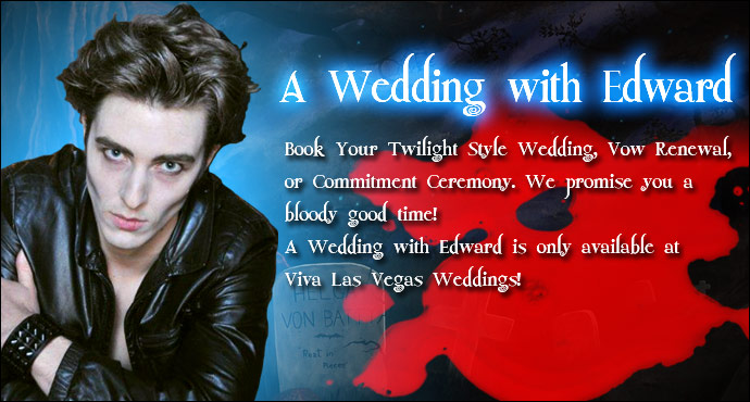 A Wedding with Edward at Viva Las Vegas Weddings