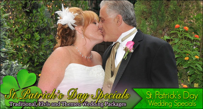 Viva Las Vegas Weddings | St. Patrick's Day Wedding Specials!