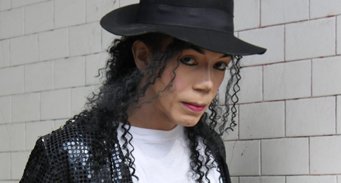 MJ Impersonator Las Vegas Wedding