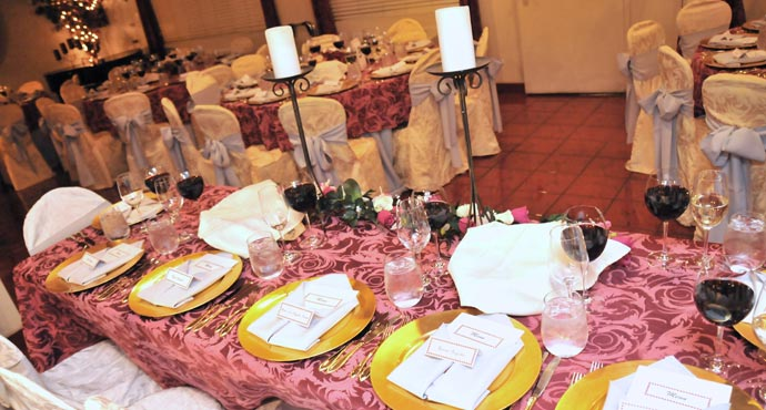 Reception includes Wedding Reception Room for 3 Hours