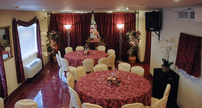 From intimate wedding receptions to larger parties in Las Vegas