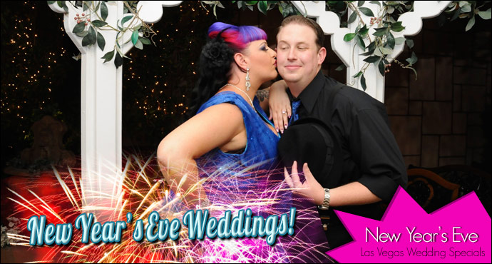 New Years Eve Wedding Specials! | Viva Las Vegas Wedding Chapels