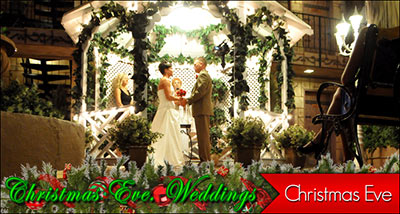 Christmas Eve Wedding Specials from Viva Las Vegas Weddings