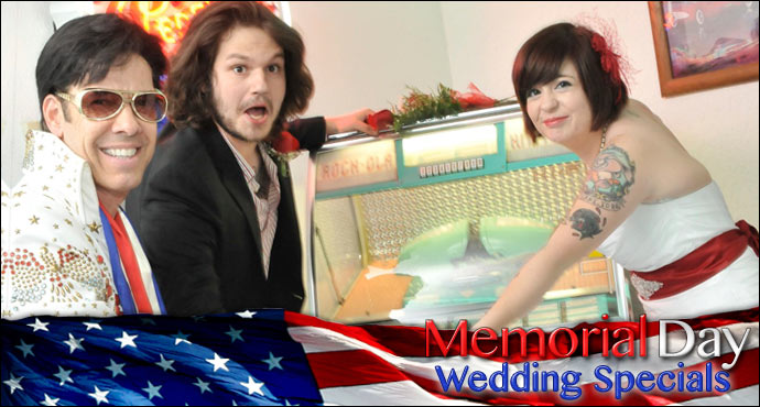 Memorial Day Wedding Specials in Las Vegas