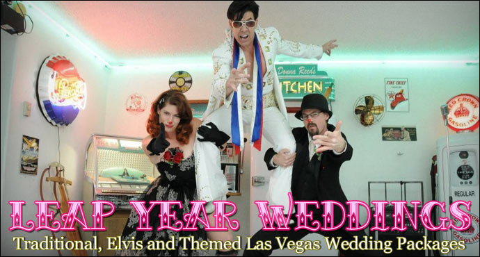 Leap Year Wedding Specials from Viva Las Vegas Weddings