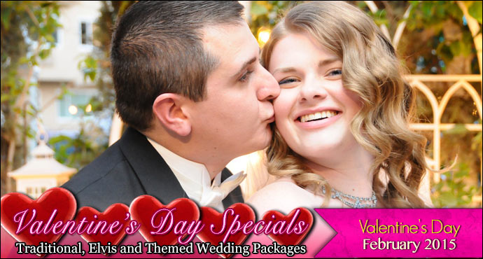 Valentine's Day Wedding Specials from Viva Las Vegas Weddings