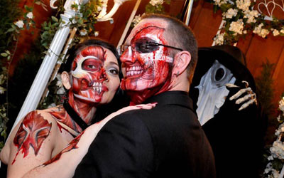 Viva Las Vegas Wedding Packages Las Vegas Gothic Wedding Package