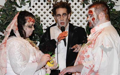 Book your Zombie Wedding package at Viva Las Vegas