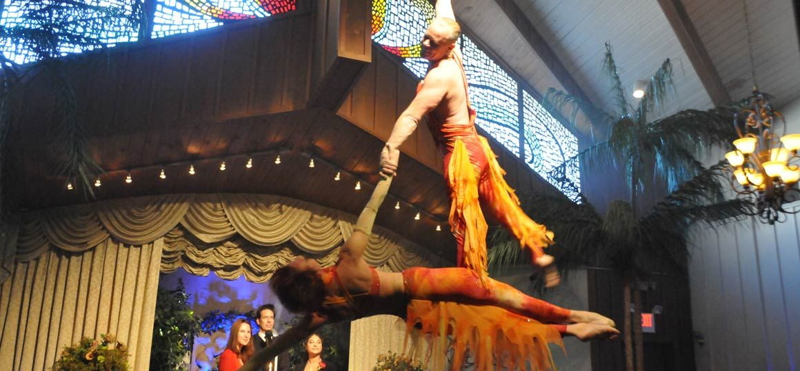The viva du cirque lgbt wedding at viva las vegas weddings for Gay wedding packages las vegas