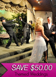 April 14th, 2014 - Themed Wedding Specials