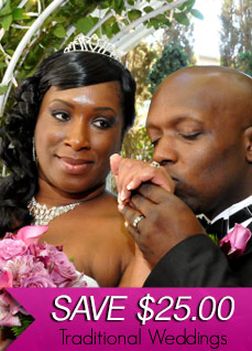 April 14th, 2014 Traditional Wedding Specials