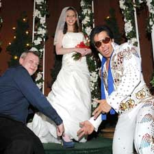 The Viva Las Vegas with Limo wedding package