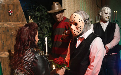 The Freddy Krueger Themed Wedding Package