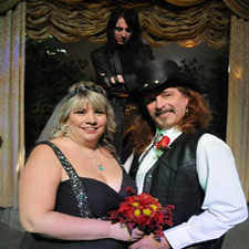The Alice Cooper Themed Wedding