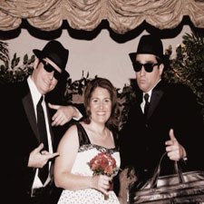 The Blues Brothers wedding