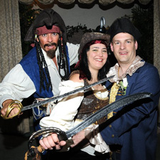The Pirate Themed Wedding