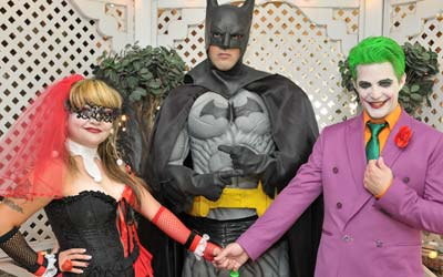 Super Hero Love & Justice Wedding Package