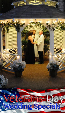 Freedom Indoor or Outdoor Gazebo Wedding Package