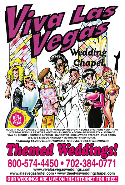 View and Download Brochures of Viva Las Vegas Wedding Chapels