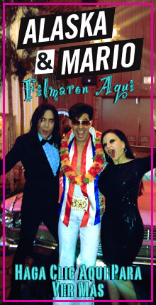 Alaska y Mario Filmaron en Viva Las Vegas Weddings