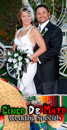 Cinco De Mayo Special Wedding Package