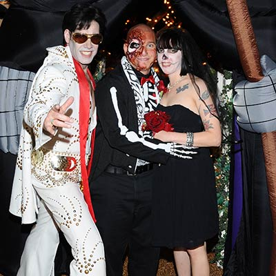 Zombie Elvis Impersonator