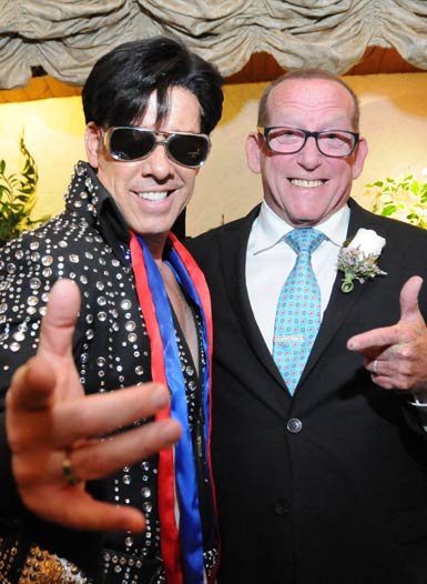 Elvis Impersonator Minister Ron Decar