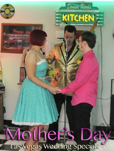 """Momma Married Elvis"" Rockabilly Wedding"