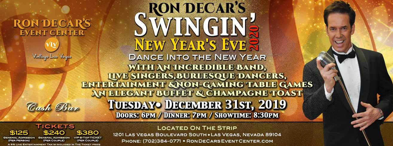 Ron DeCar's Swingin' New Year's Eve
