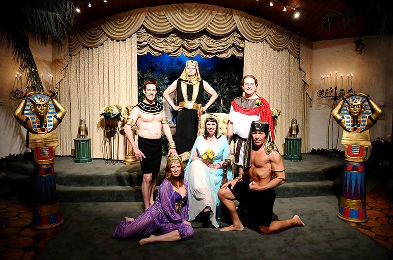 Las Vegas Weddings Egyptian Themed Wedding Package