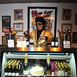 Viva Las Vegas Mini Bar Man